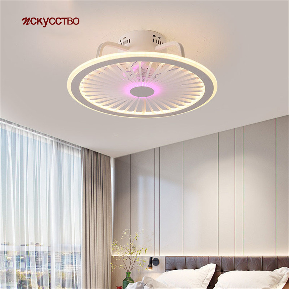 2020 New Led Pink Luster Bladeless Ceiling Fan With Light Remote Control Living Room Bedroom Kitchen Modern Lighting Fixtures Ceiling Fans Aliexpress