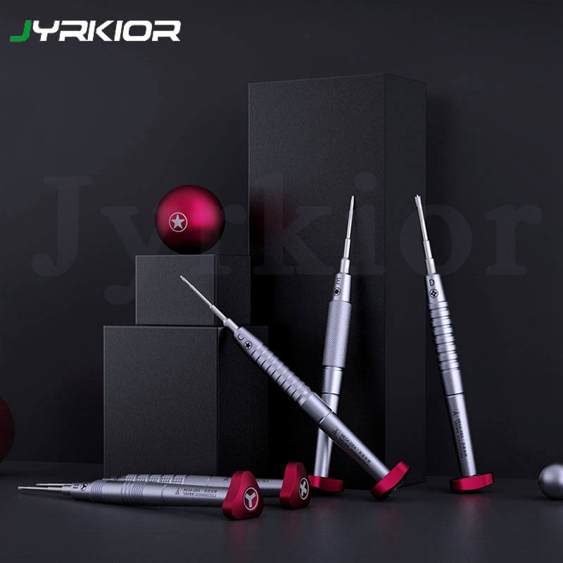 Qianli Tri-Point Y0.6 0.8mm P2 Pentalobe 2.0mm Convex Cross Torx T2 Phillips PH000 1.5mm For Mobile Phone Repair Screwdriver Set
