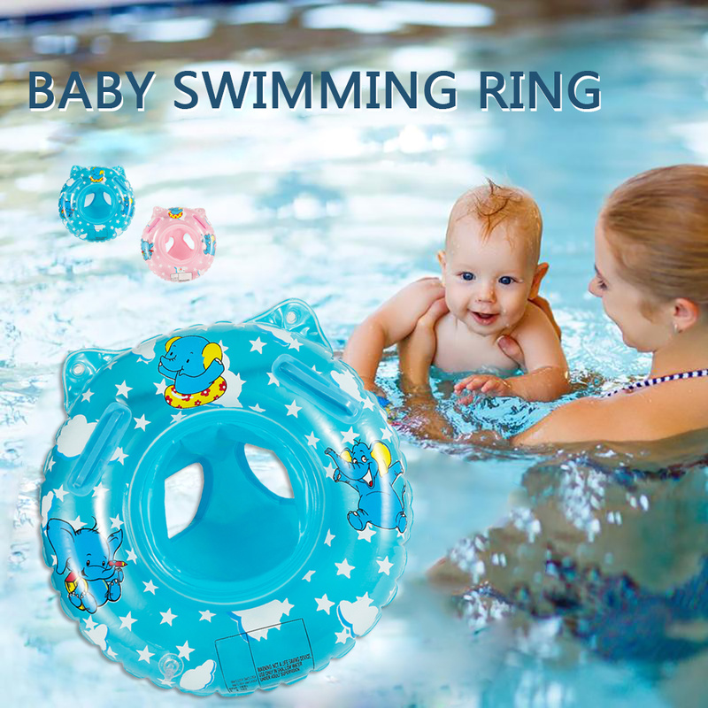 Swimming Ring Newborn Bath Swim Circle Children's Arms Inflatable Float Swimming Baby Pools Accessories