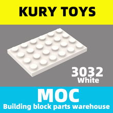 Kury Toys DIY MOC For 3032 Building block parts For Plate 4 x 6 For Plate