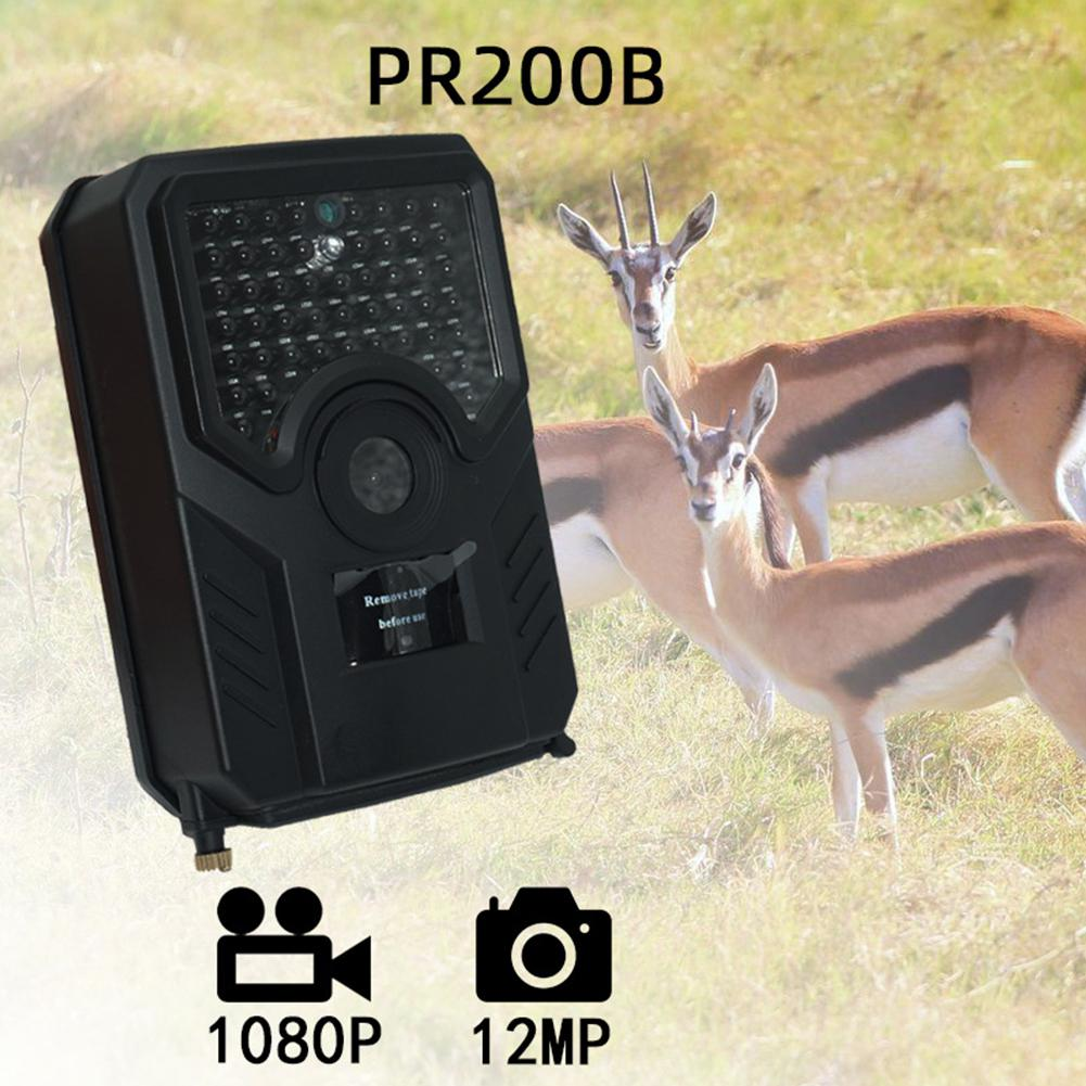 <font><b>PR200B</b></font> HD 1080P Camera Waterproof Multifunctional Trapping Cam IR Cut Surveillance Vision Thermal Camera image