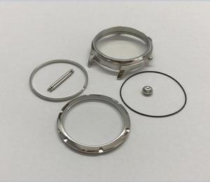 Image 5 - Parnis caja de reloj de acero inoxidable, 44MM, 316L, compatible con cuerda a mano mecánica 6497/6498, movimiento 02