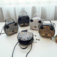 Women Leopard Mini Bag Female Cat Purse Women Handbag 2020 Luxury Cute Small Shoulder Bag Bolsa Feminina KYIDER