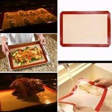Силиконовый коврик для приготовления пищи, антипригарный силиконовый коврик для выпечки торта, печенья, макарон, маслостойкие вкладыши Кондитерские коврики для выпечки