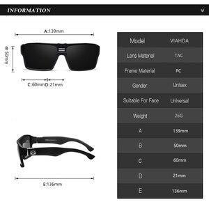 Image 3 - Viahda new Polarized Sunglasses Men Driving Shades Male Sun Glasses For Women Retro Luxury Brand Designer