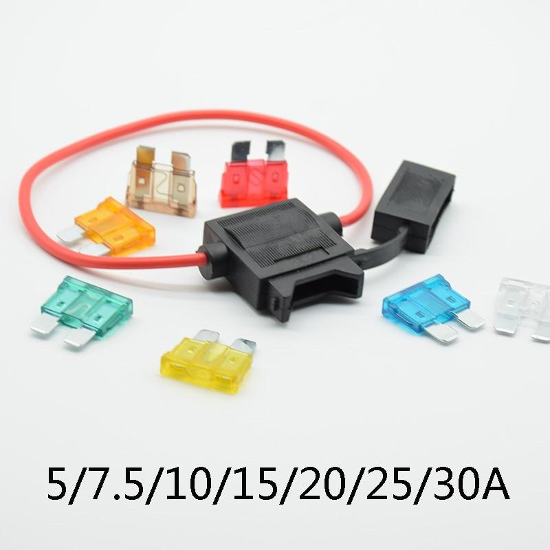 Standard Blade Socket Fuse Holder 12v for Car Automotive Waterproof