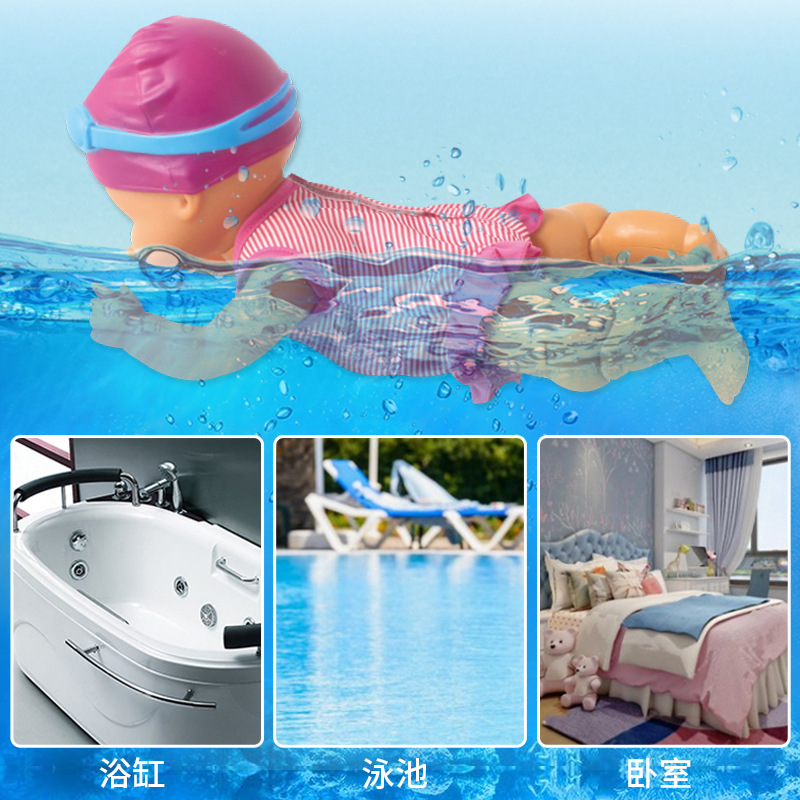 Electric Swimming Doll Science Simulate Swimming Children'S Educational Toy