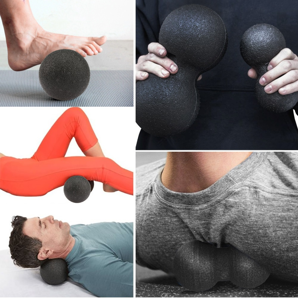 EPP Exercise Ball in Peanut Shape Ideal for Self Massage and Myofascial Release 3