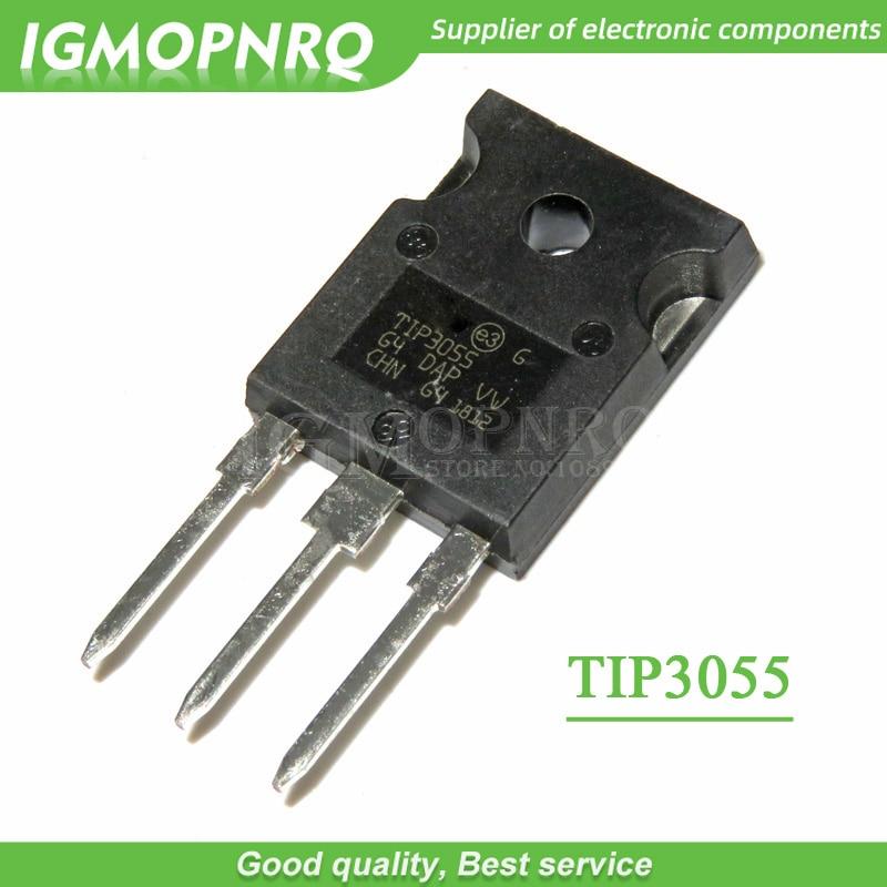 5PCS TIP3055 TO247 TO-3P TIP3055 TO-247