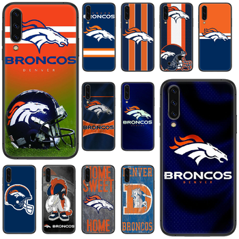 Denver Bronco American Football Phone case For Samsung Galaxy A 5 10 20 3 30 40 50 51 7 70 71 E S 4G 16 17 18 black waterproof image