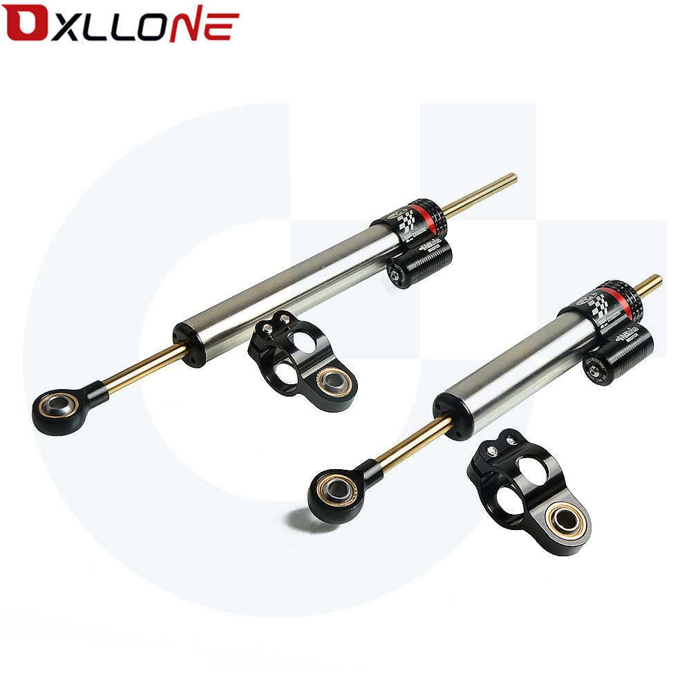 UNIVERSAL MOTORCYCLE STABILIZER STEERING DAMPER MOUNTING BRACKET SUPPORT KIT FOR SUZUKI V-Strom <font><b>1000</b></font> ABS <font><b>DR</b></font>-Z5 RM65 <font><b>DR</b></font>-Z110 image