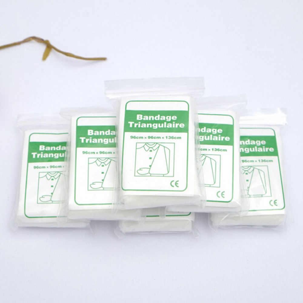 1 opakowanie bandaż medyczny oparzenie opatrunek bandaż trójkątny apteczka bandaż złamanie fiksacja awaryjny bandaż pielęgnacja ran
