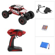 Russian Fast Shipping 2.4G 4WD Rock Crawlers Driving Car Double Motors Drive Bigfoot rc Car Model Off-Road Vehicle Toy EU Plug(China)