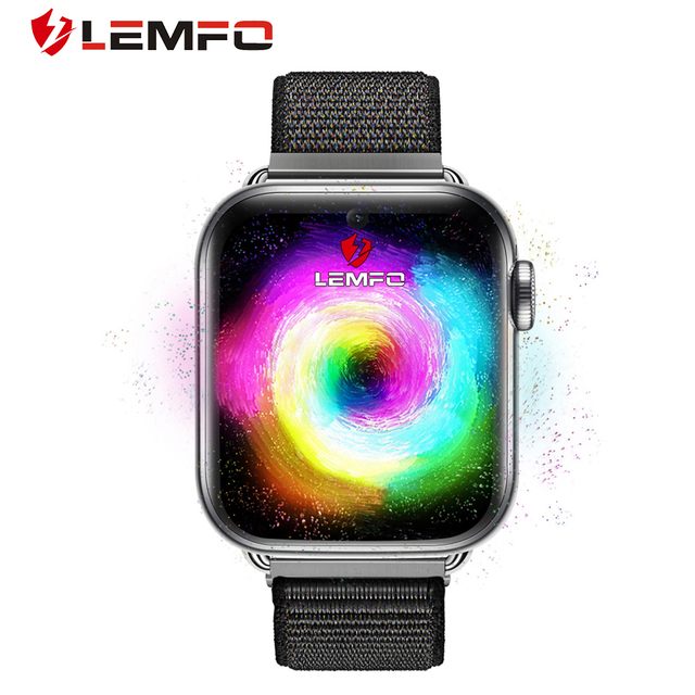 LEMFO LEM10 4G Smart Watch Men Phone Android 7.1 3GB+32GB Support GPS / WiFi / SIM card / Heart Rate Monitor Camera Smartwatch 1