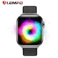 LEMFO-reloj inteligente LEM10 4G para hombre, dispositivo con Android 7,1, 3GB + 32GB, GPS, WiFi, tarjeta SIM y control del ritmo cardíaco