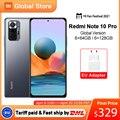 Глобальная версия смартфона Xiaomi Redmi Note 10 Pro 64 Гб/128 ГБ 108MP камера Snapdragon 732G 120Hz AMOLED дисплей
