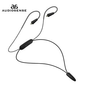 Image 1 - AUDIOSNESE BT20,Bluetooth אוזניות כבל, אלחוטי אוזניות Bluetooth 5.0 כבל תמיכה APTX LL AAC LC 12 שעות לשחק mmcx שקע