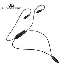 AUDIOSNESE BT20, Cable de auriculares Bluetooth, auriculares inalámbricos Bluetooth 5,0 Cable compatible con APTX LL AAC LC 12 horas de reproducción mmcx Jack