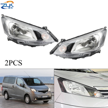 Headlamp Nissan Nv200 Halogen ZUK for Sub-Assy with Electric Adjustable 2PCS