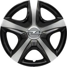 Flexible Unbreakable Inc. 15 4 Wheel Cover Set for Opel