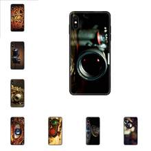 Soft TPU Coque Case Capa For Xiaomi Redmi 3S 4X 4A 5 5A 6 6A 7 7A 8 8A 8T 9 9A K20 K30 S2 Y2 Pro Plus Ultra Steampunk Camera(China)
