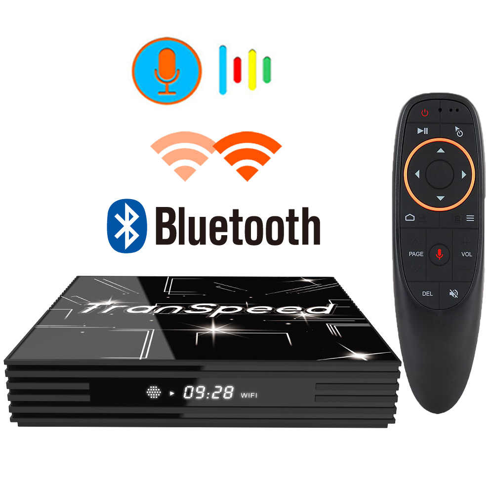 Android 9.0 TV Box 3D 4K Youtube Netflix 4G 64G Google Voice Trợ Lý Ultra HD Wifi bluetooth Play Store Nhanh Set Top Box