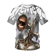 T-Shirt Siren-Head Game Clothes Boys Punk Summer Kids Teens Girls Children Horror Day