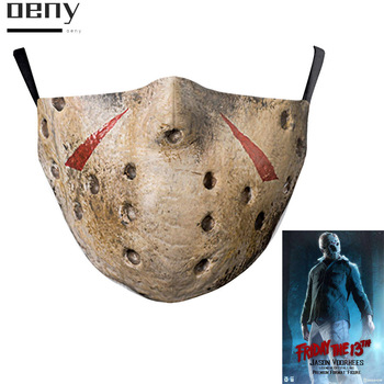 The Jason Voorhees Friday The 13th Mask Scary Halloween Horror Movie Hockey Cosplay Face Masks for Adult Funny Costume Party men s jason voorhees friday the 13th printed pure men s hot mouth mask women s kid pm2 5