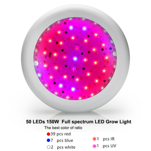 Image 4 - Лампа светодиодная полного спектра для выращивания растений, 150 Вт, 4 шт.