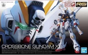 2020 new oriiginal model building kits Bandai Genuine Gundam Model 1/144 Rg 31 Cross Bone X-1 Pirate Gundam X1 action figure 1