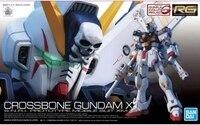 2019 new oriiginal model building kits Bandai Genuine Gundam Model 1/144 Rg 31 Cross Bone X 1 Pirate Gundam X1 action figure