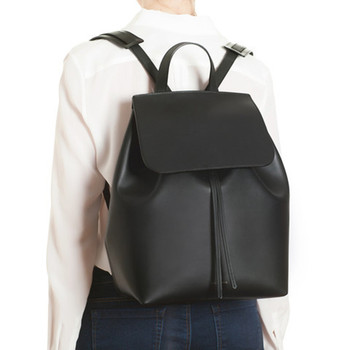 High quality leather ladies backpack fashion classic 100% genuine cowhide