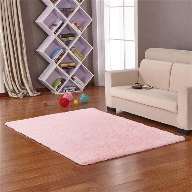 Livraison gratuite 4x5.3 pieds doux tapis Shaggy pour chambre enfants chambre antidérapant salon tapis pépinière tapis décor à la maison-grand