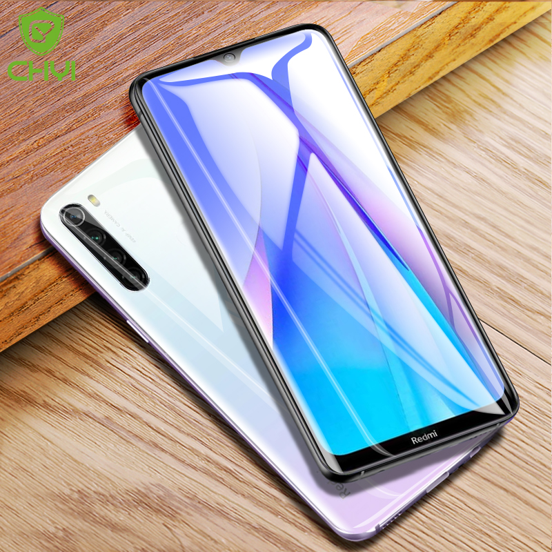 CHYI 3D Curved Film For Xiaomi Redmi Note 8T 7 pro Screen Protector Note8 6 5 pro Full cover Redmi Note 8 pro Film Not Glass(China)