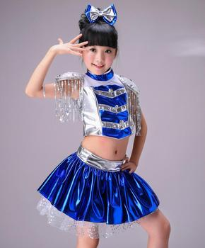 Children Jazz Dance Modern Dance Pettiskirt Cheerleading Girls Performance Clothing Hip Hop Jazz Stage Performance Costumes