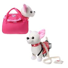 Electronic Pet Robot Dog Zipper Walking Singing Interactive Toy With Bag For Children Kids Birthday Gifts foxie the singing dog