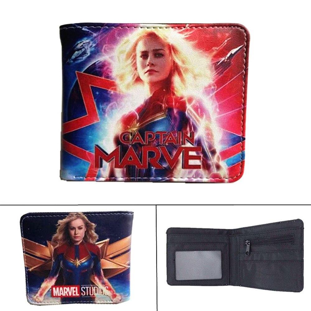 Avengers Endgame Spiderman Women Zipper Long Wallet Cards Party Purse Handbag