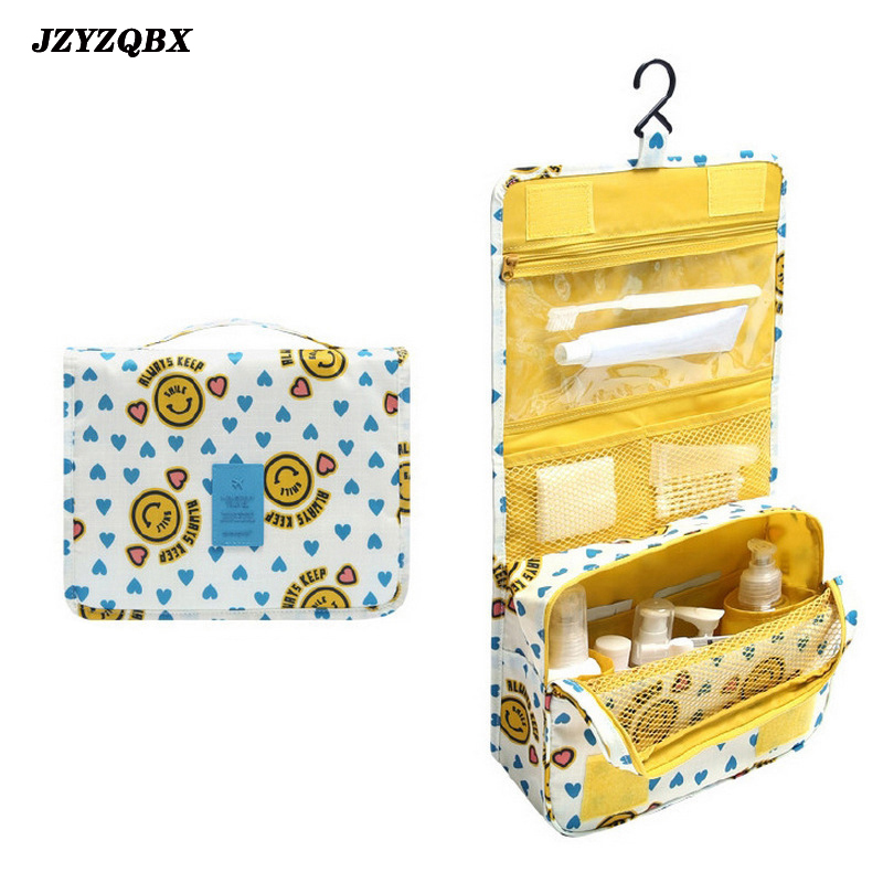 Hook Type Cosmetic Bag Female Cosmetics Bag Large Capacity Wash Gargle Bag Portable Multi Function Travel Finishing Bag in Cosmetic Bags Cases from Luggage Bags