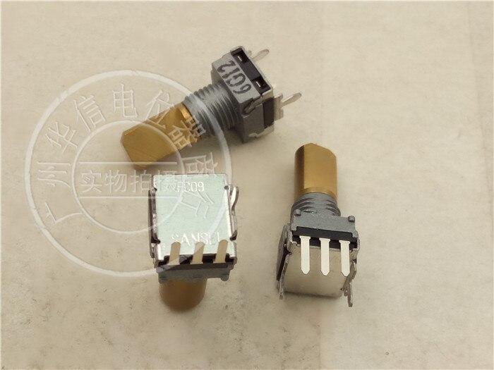 5 pièces pour japon SANSEI EC09 EC09P20-205B Type encodeur avec pas à pas 20 points poignée verticale 16MM commutateur 3 pieds 3 broches