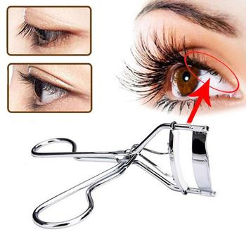 Black/silver/rose Gold Eyelash Curler Stainless Steel Eyelash Curling Tool Natural Curling Fits The Eye Shape Replacement Pad 1