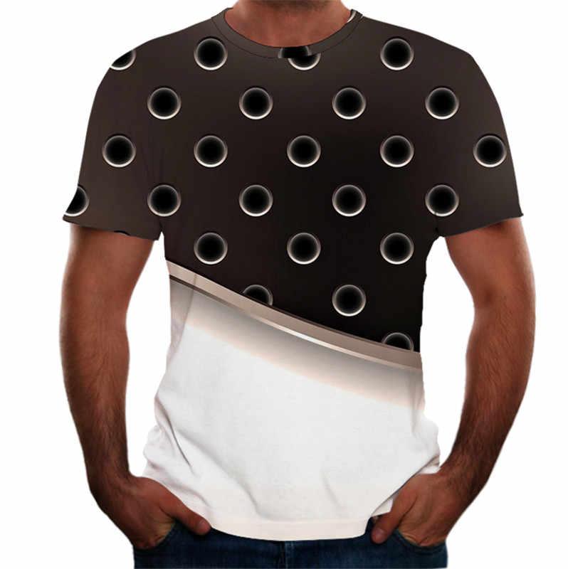 גברים של חולצה קיץ חדש סגנון 3D מודפס קצר שרוולים חולצת טי גברים אופנה נוחות זכר טי למעלה Streetwear Camisetas hombre