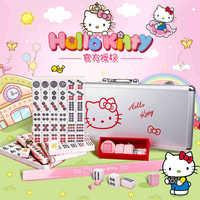 High Quality Traveling Mahjong Set Mahjong Games Home Games Mahjong Tiles Chinese Funny Family Table Board Game