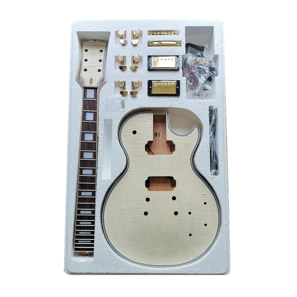 Electric Guitar Kit, DIY Kit For LP Electric Guitar, Gift For Children / Christmas / Musical Instrument Beginners