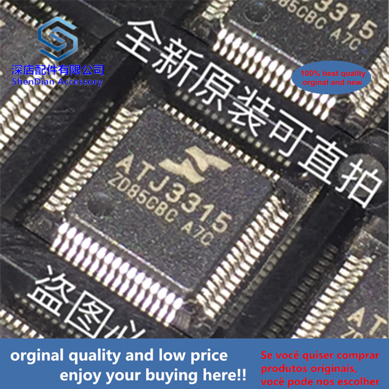 5pcs 100% Orginal And New ATJ3315 LQFP64 Best Qualtiy