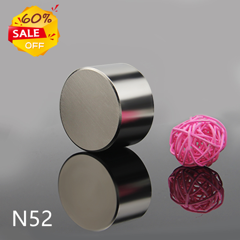 1pcs <font><b>N52</b></font> 50x30mm 60X30mm 40X20mm Magnet Hot Round Magnet Strong magnets Rare Earth Neodymium Magnet 50x20mm image