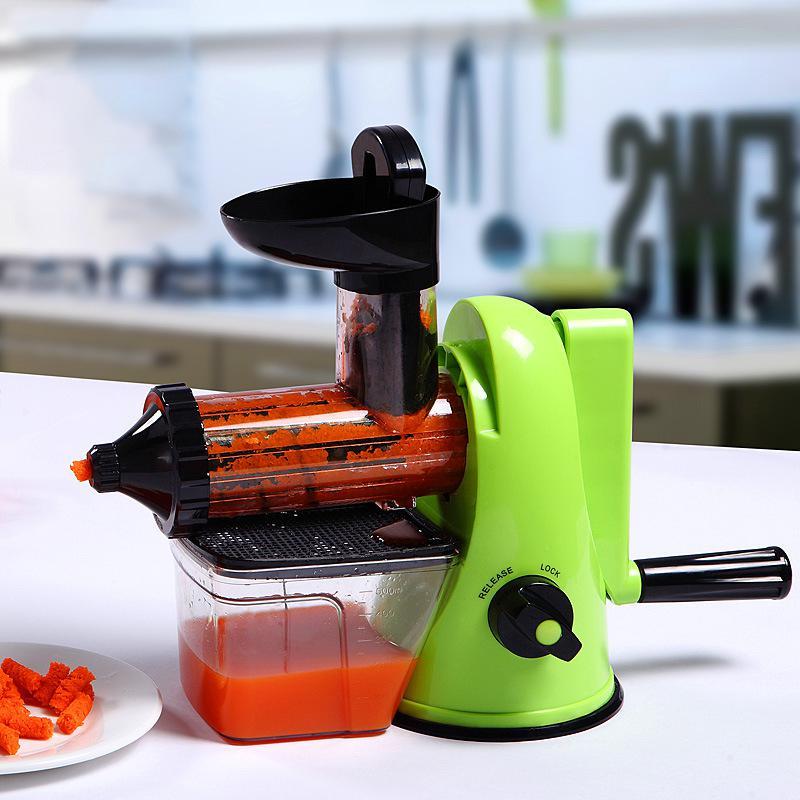 Migecon manual Juicer hand Fruit Juice Machine Cold Press Extractor Squeezer of Kitchen Appliances