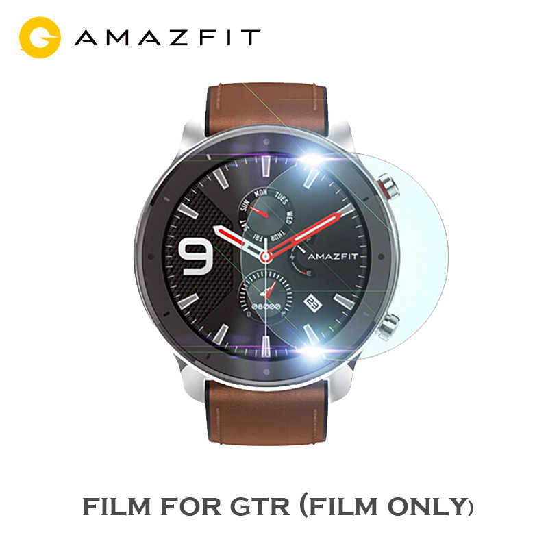 Transparent Film Screen Protector for AMAZFIT GTR Smart Watch47mm Smart watch Protective accessories