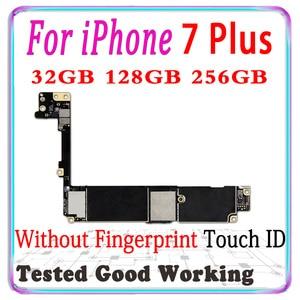 Image 3 - 100% מקורי סמארטפון עבור iPhone 7 בתוספת האם עם מגע מזהה עבור iphone 7 בתוספת היגיון לוח עם שבבי IOS תמיכת LTE 4G