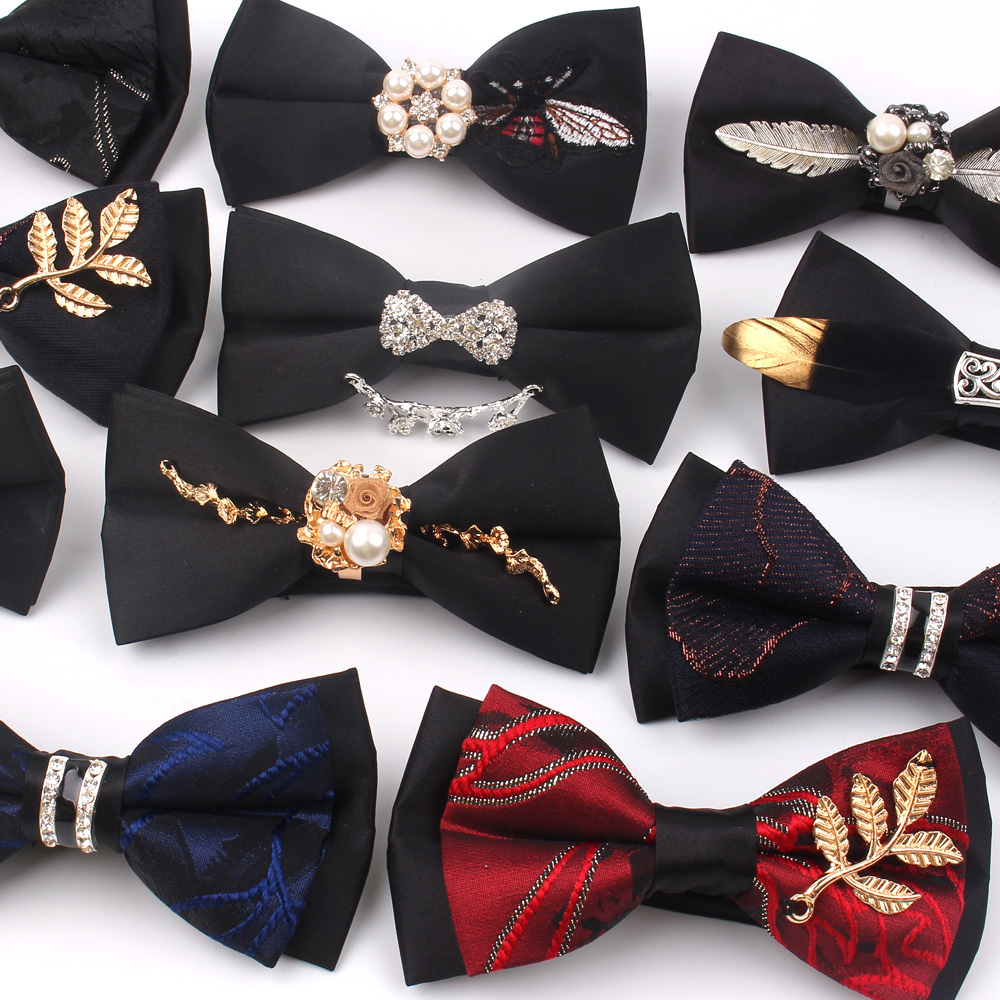 NEW Bow Tie For Men Women Classic Suits Bowtie For Business Wedding Bowknot Adult Bow Ties Cravats Ties