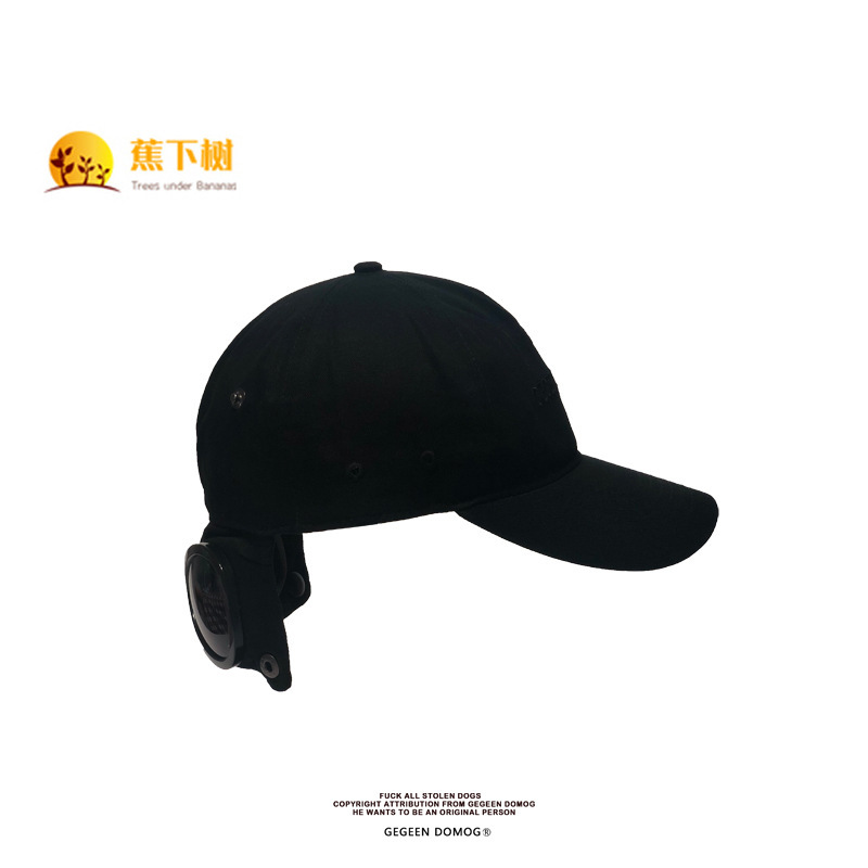 Aviator Glasses Hat Street Tide Female Net Red Hip Hop Sunscreen Baseball Cap Ins Original Hip-hop Duck Tongue Male